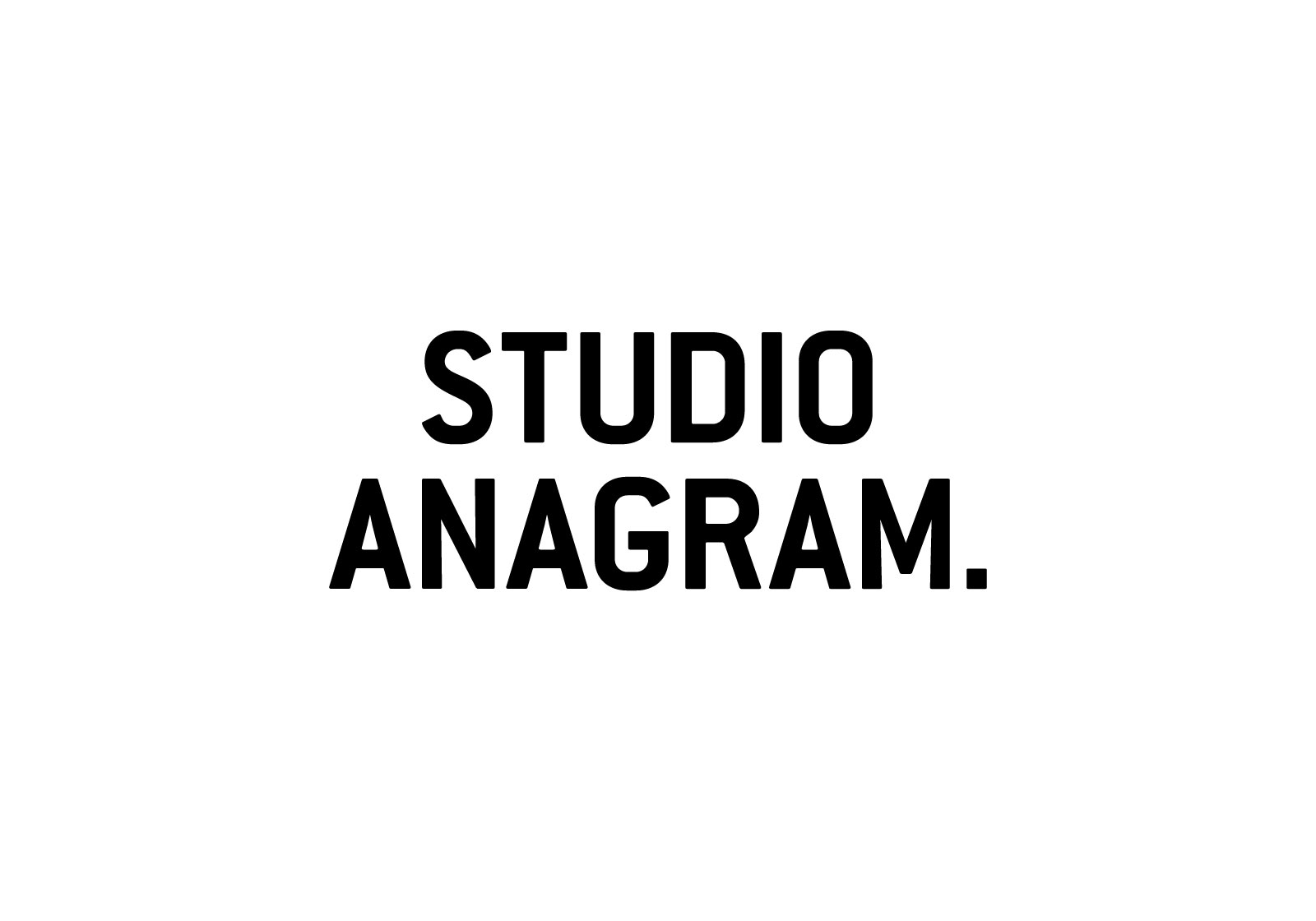 STUDIO ANAGRAM.